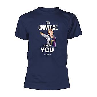 Doctor Who The Universe camiseta oficial camiseta hombres unisex