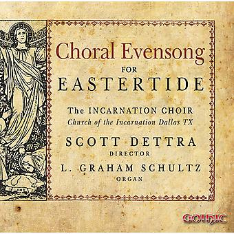 Dettra / Schultz / Hill - Choral Evensong for Eastertide [CD] USA import