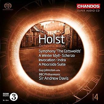 Holst / Johnston / BBC Philharmonic - Orchestral Works 4 [SACD] USA import