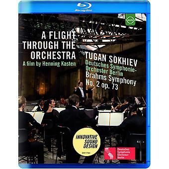 Tugan Sokhiev - vuelo a través de la orquesta - Deutsches Symphonie [Blu-ray] USA importar