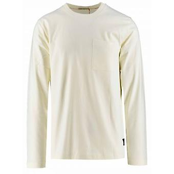 Nudie Jeans Rudi Off-White Pocket T-Shirt