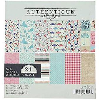 Authentique Aggiornato 6x6 Pollici Paper Pad