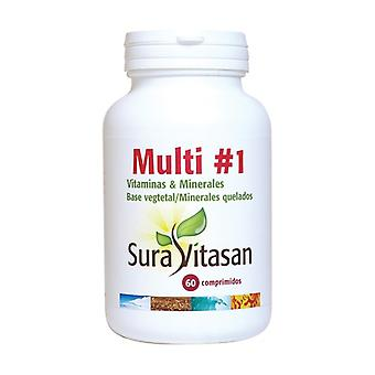 Multi 1 Vitamins and Minerals 60 tablets