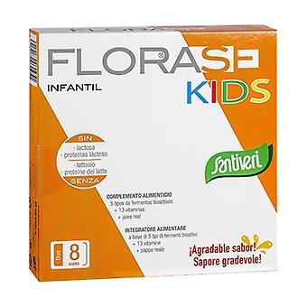 Florase Kids 8 vials of 10ml (Honey - Apple)