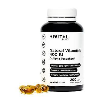 Vitamin E Natural 400 IU 200 softgels