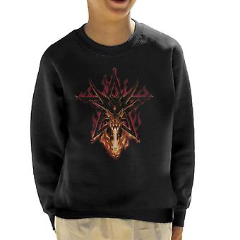 Alchemy Furnace Of Mercury Kid's Sweatshirt