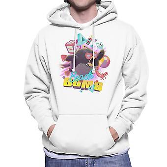 Angry Birds Beach Bomb Men's Hooded Sweatshirt