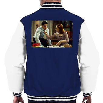 American Pie Jim And Michelle Men's Varsity Jacket