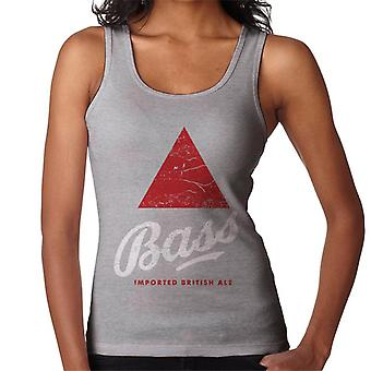 Bass Red Triangle Classic Logo Women's Vest
