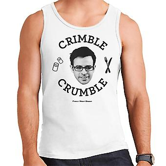 Friday Night Dinner Adam Crimble Crumble Men's Vest