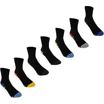 Kangol Formella Sock 7 pack Junior Boys