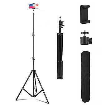 Adjustable 2.1M Tripod Stand Mobile Phone & Camera Holder with Carry Bag