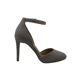 MICHAEL Michael Kors Womens georgia chiuso Toe caviglia cinturino classico di camoscio