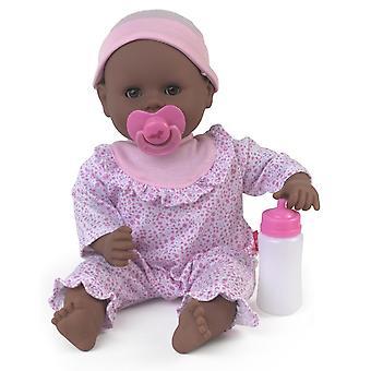 Monde de poupées Treasure peu poupée noire
