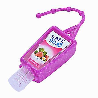 Reusable Mini Hand Sanitizer Fruit Scented Disposable - Moisturizing Safe Gel