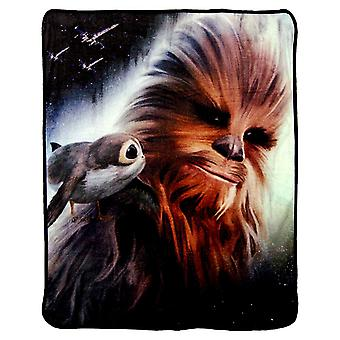 Super Soft Throws - The Last Jedi - Chewies Back New 45x60