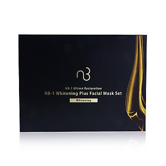 Natural Beauty NB-1 Ultime Restoration NB-1 Whitening Plus Facial Mask Set - Whitening 6applications