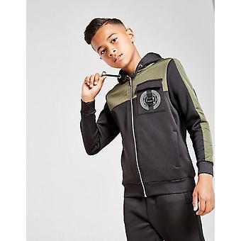 Nieuwe Supply & Demand Boys' Defence Full Zip Hoodie Zwart