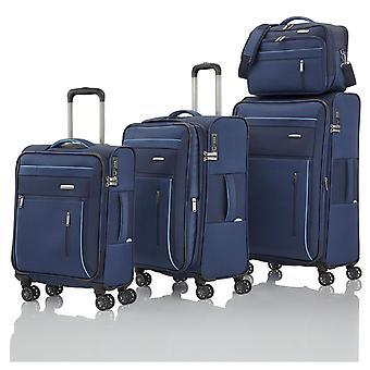 travelite Capri L/M/S 4 hjul, brädväska, blå