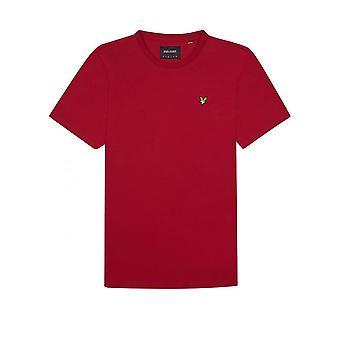 Lyle & Scott Logotipo Básico Tshirt Chilli Pepper Red