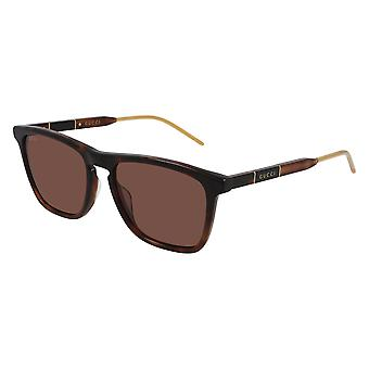 Gucci GG0843S 002 Havana/Brown Sunglasses