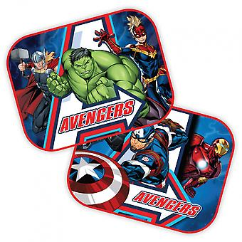 zonneschermen Avengers 44 x 35 cm 2 stuks