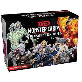 D&D Spellbook Cards Mordenkainen's Tome of Foes