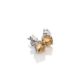 Anais Diamantes Calientes Anais Noviembre Citrino Pendientes AE011
