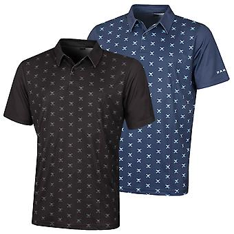 Oakley Mens Driver Breathable Short Sleeve Golf Polo Shirt