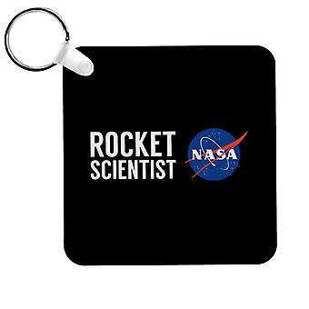 NASA Rocket Scientist Keyring