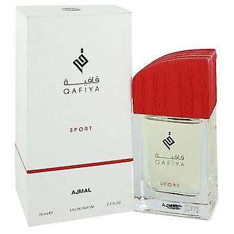 Qafiya sport eau de parfum spray by ajmal 75 ml