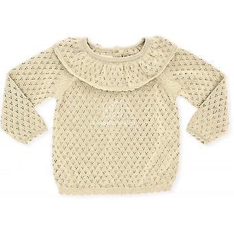 Soor Ploom Kids Knit Thin Sweater- Fit Srping i jesienna dziewczyna piękny sweter