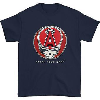 Grateful Dead Los Angeles Angels stehlen Ihre Basis T-shirt