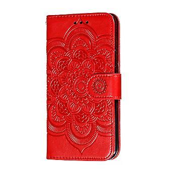 Wallet Case voor Apple iPhone 6 Plus Red BEFOSPEY-384