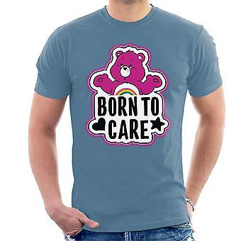 Care Bears Cheer Bear Født til care mænd's T-shirt