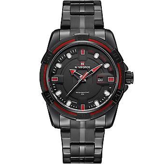 NAVIFORCE NF9079 Fashion Men Quart Watch Casual Date Display Sport Watch