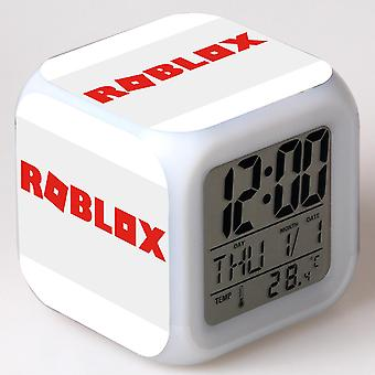 Colorful Multifunctional LED Children's Alarm Clock -Roblox #5