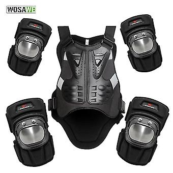 Snowboarding Jacket Vest Motorcycle Chest Elbow Knee Protection Vest And Knee
