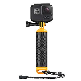 Sametop waterproof floating hand grip floaty handle compatible with gopro hero 8, 7, 6, 5, 4, sessio