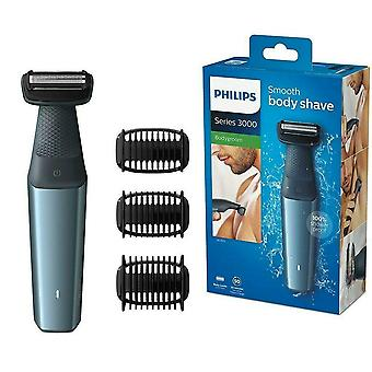 Philips Bodygroom 3000 Skin-Friendly Body Razor with 3 Trimming Attachments