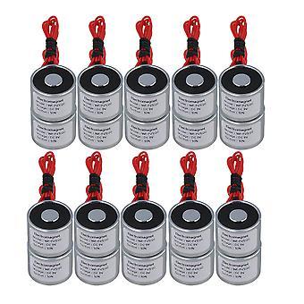 20ks 9V DC 5kg 50N 0,5A Elektrické zdvíhacie holdingový magnet Elektromagnet 4W