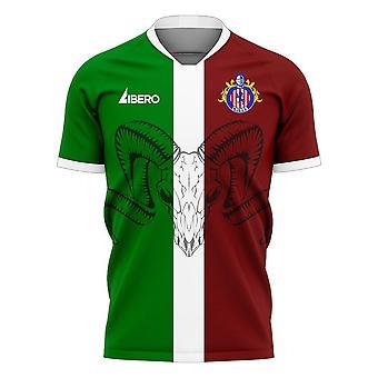 Chivas 2020-2021 Derde Concept Football Kit (Libero)
