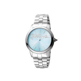 Just Cavalli JC1L006M0065 LOGO Women's Ice Blue Watch