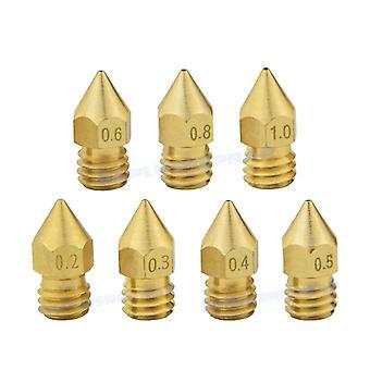 Brass Nozzle/extruder Print Head Nozzle Printer Accessories