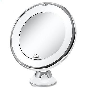 Rotazione a 360 gradi, ingrandimento, specchio flessibile con luce a led
