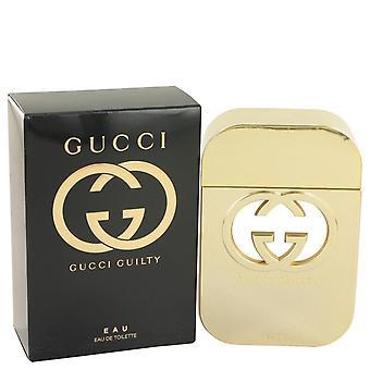Gucci Guilty Eau Eau De Toilette Spray By Gucci 2.5 oz Eau De Toilette Spray
