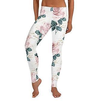 Stylish Floral Leggings