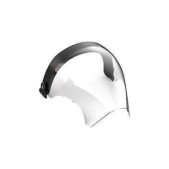 Silicone Smoke Clear Face Shield