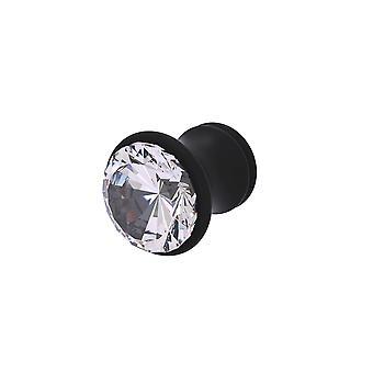 Bouton d'armoire carolina crystal collection - Matte Black
