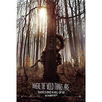 Where the Wild Things Are Movie Poster drucken (27 x 40)